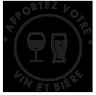 Restaurant, Maison de réception apportez votre vin et bière